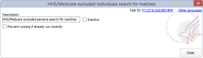 Scheduled Hhs Medicare Excluded Individuals Search For Matches
