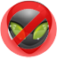 Icon: no aliens!